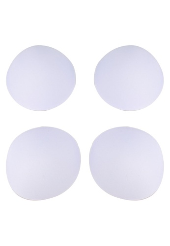 PINK N' PROPER white Ultimate Round Pad Enhancer 2 pack 1C14FUS2EDEC08GS_1