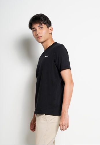 Hi Style black Graphic Short Sleeve T-Shirt A16FCAA06AD5D1GS_1