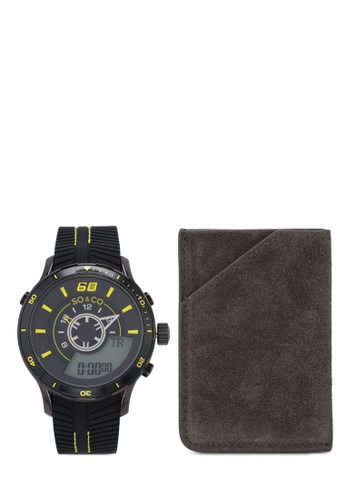 SO&CO black Monticello 5035.6_CH Watch Set F2C3BACD2D4B29GS_1