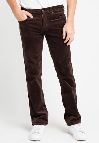 EDWIN brown Edwin Long Jeans Pants 505-Cdr-Brown ED179AA0URI5ID_1