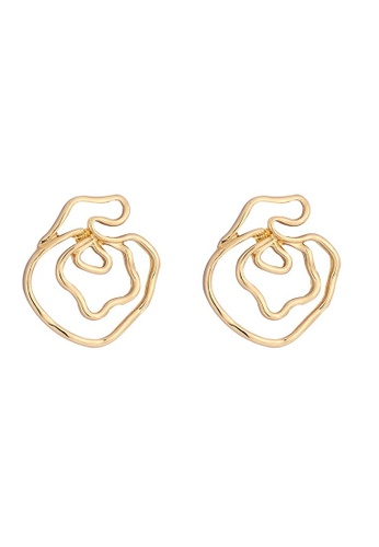 A-Excellence gold Exaggerated Alloy Earring 3D88EACC7339D0GS_1