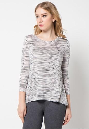 EDITION white Basic Loose T-Shirt ED101AA45AMSID_1