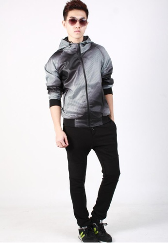 M-Wanted black M. Dogtooth Light Weight Jacket MW173AA38OARSG_1