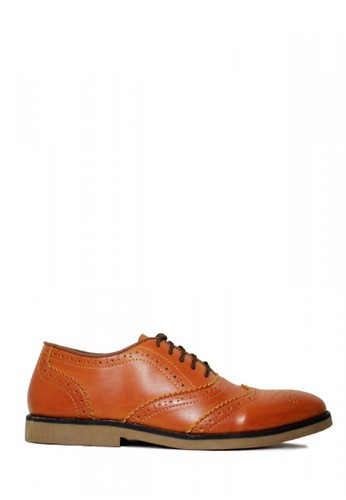 D-Island brown D-Island Shoes Wingtip Loafers Vintage Leather Soft Brown F8193SHE0EEDFEGS_1