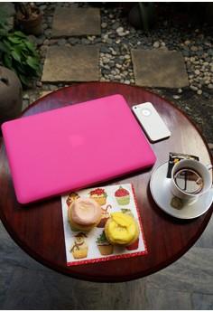 MacBook case bundle for Air 11 – Barbie Pink