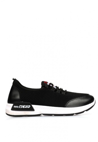 New York Sneakers black Griff F3 Men's Rubber Shoes 53C2DSHAA19589GS_1