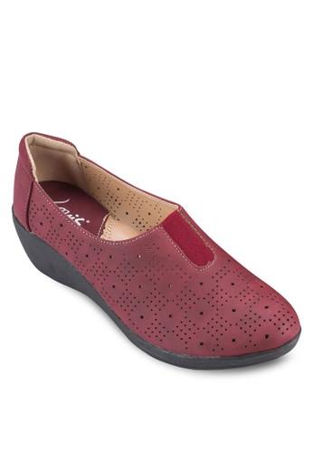 低跟楔型跟樂福鞋, esprit hong kong 分店女鞋, 楔形鞋