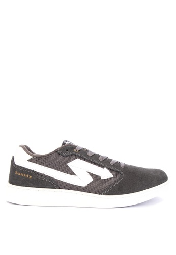 SONNIX grey Maul Q218 Men's Lace Up Sneaker Shoes 1B798SHC04061FGS_1