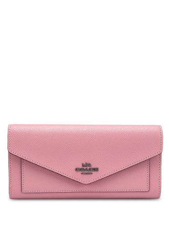 Coach pink Trifold Wallet (cv) 12EB1ACAF48D0CGS_1