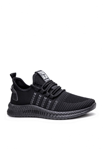 Twenty Eight Shoes black Stylish Mesh Sneakers VMT11 17058SHD8F0CCAGS_1