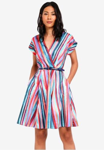 CLOSET multi Panelled Wrap Dress 8437DAAD1AC21DGS_1