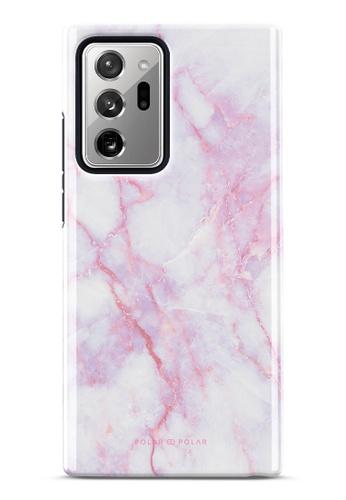 Polar Polar pink Pink White Dual-Layer Tough Case Glossy For Samsung Galaxy Note20 Ultra 5G B5070AC8D4C70CGS_1