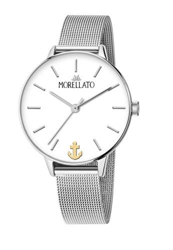 Morellato silver Ninfa Quartz Watch Silver Metal Band R0153141542 62D8BACD04521FGS_1