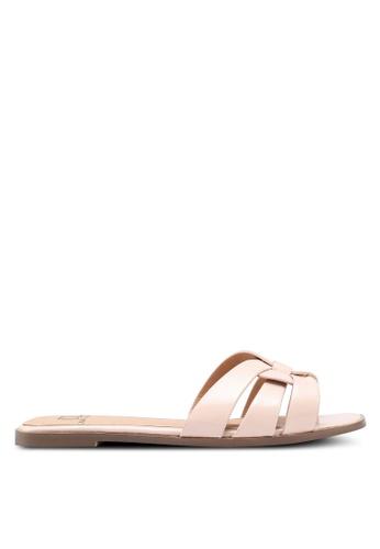 Carlton London pink Patent Sandals 4E23BSHB6007FFGS_1