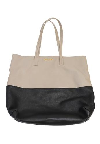 MIU MIU multi Pre-Loved miu miu Miu Miu Two-Tone Shopper Tote Bag 215C6ACCD6A3F6GS_1