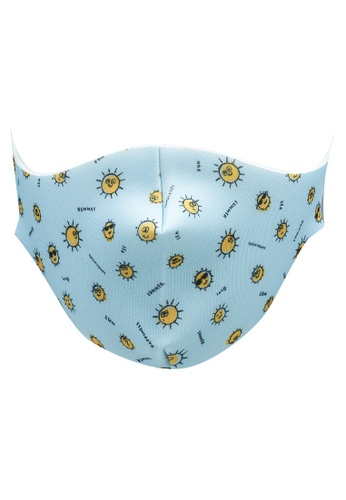 LC Waikiki blue 2-8 Years Old Boy Washable Face Mask B8477ES487D998GS_1