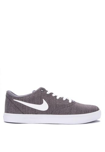 8b91412412c3 Nike grey Men s Nike Sb Check Solarsoft Canvas Premium Skateboarding Shoes  E8E86SHC182F1EGS 1