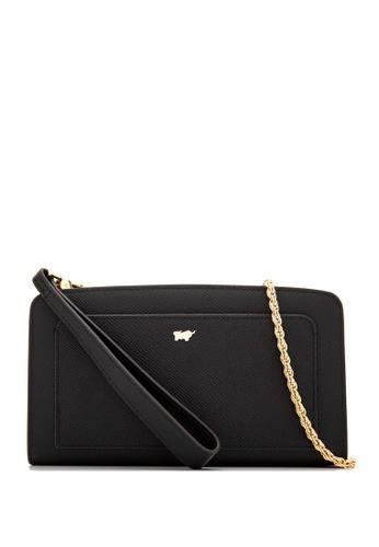 Braun Buffel black Lumi Sling Wallet 3B0D4AC94A1494GS_1
