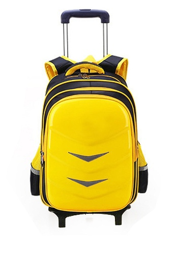 Twenty Eight Shoes yellow VANSA Climb Stairs Cart Backpacks VAK-Bp88196 03F0AKC4A400E7GS_1