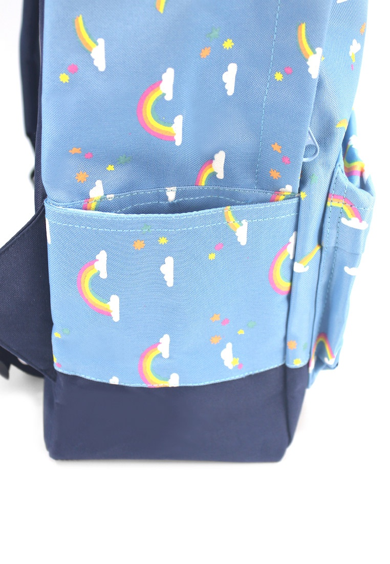 Black Blue Rainbow Backpack Ripples Friday Mid UHwPIxq for pityingly ... 31a7316d87fb9