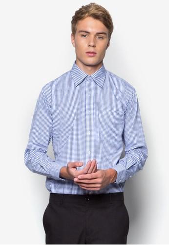 格紋長袖襯衫, 服飾, esprit 台北服飾