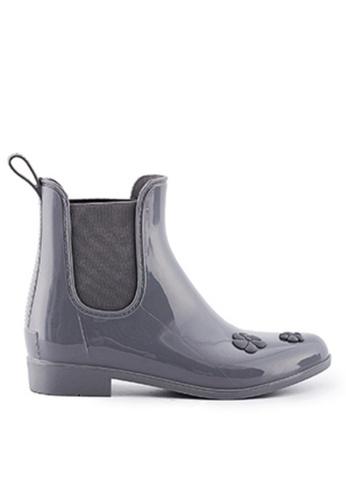 Twenty Eight Shoes 暗花圖案短雨靴MM8212 980C1SH089B3F1GS_1