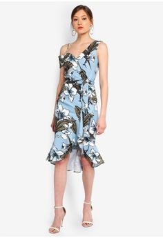 b604058780cbf 37% OFF Lavish Alice One Shoulder Ruffle Wrap Dress S$ 149.90 NOW S$ 94.90  Sizes 6 10 14