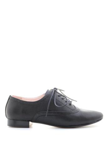 PRODUIT PARFAIT black Leather Lace up shoes 1B6EFSH955CCC7GS_1