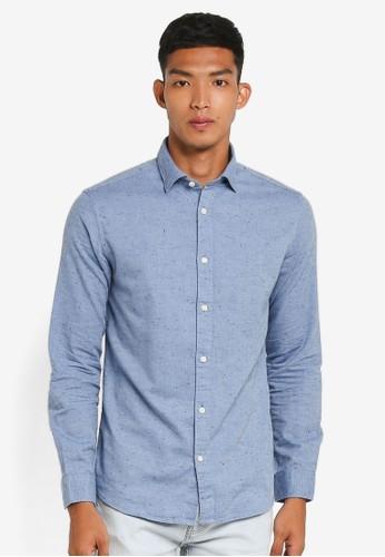 Selected Homme blue Twogunnar Shirt A0113AA2343B9CGS_1