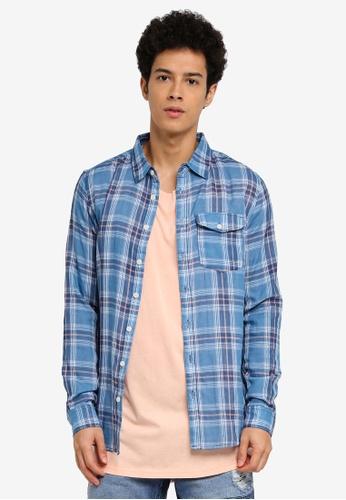 Cotton On blue 91 Shirt 0FA6DAA22F3506GS_1