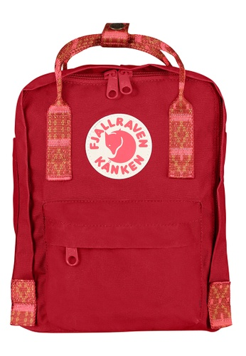 Fjallraven Kanken red Deep Red-Folk Pattern Kanken Mini Backpack F3C00AC0092EFBGS_1