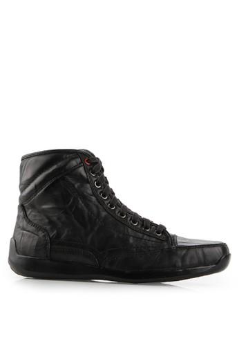 Gino Mariani black Elario 2 Leather casual Shoes GI569SH58SOFID_1