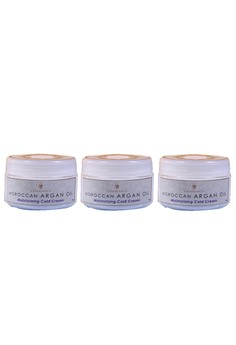 Moroccan Argan Oil Moisturizing Cold Cream 100g Set of 3