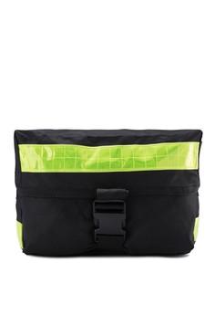 Messenger Bag with Reflective Details