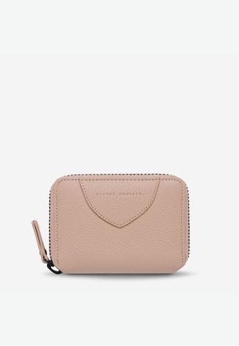 Status Anxiety pink Status Anxiety Wayward Wallet - Dusty Pink 0BDCDACD26FECAGS_1