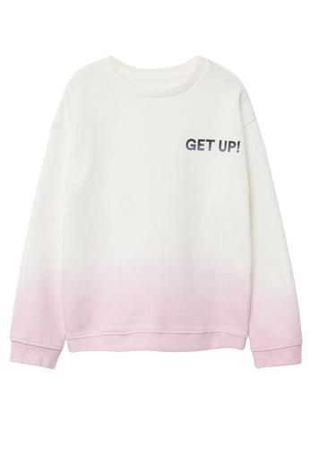 MANGO KIDS purple Organic Cotton Messages Sweatshirt B68B9KA5F8C55CGS_1
