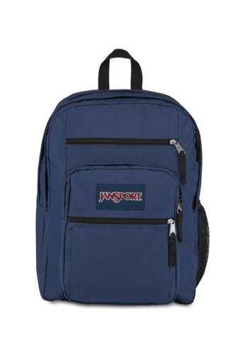 Jansport navy Jansport Unisex Big Student Backpack Navy - 34L CA95FAC4A0D89DGS_1