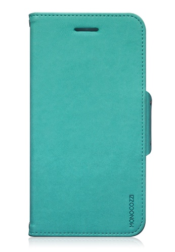 Monocozzi blue Lucid Folio Leather Hard Flip Folio For iPhone 6 Plus MO983AC85BWGHK_1