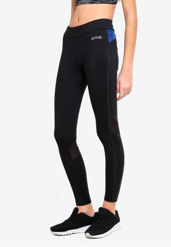 AVIVA black Performance Long Pants 9B103AA75BFA42GS_1