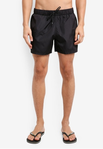 MANGO Man black Basic Swimsuit 8CAD7AA54B0BDCGS_1