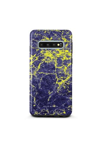 Polar Polar purple Purple Night Samsung Galaxy S10 Dual-Layer Protective Phone Case (Glossy) 165ABAC18380FCGS_1