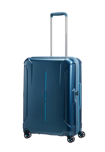American Tourister blue American Tourister Technum Spinner 68/25 Exp TSA AM536AC0FAITSG_1
