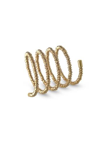 Jemocracy gold JEMOCRACY - Accelerator - flexible spiral-shaped ring in 18k gold 65041AC6FCBDECGS_1