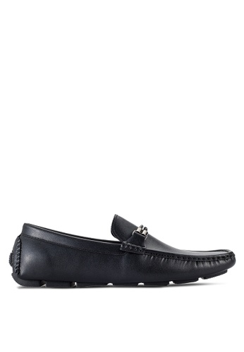 UniqTee black Loafers With Braided Detail UN097SH84RQLMY_1
