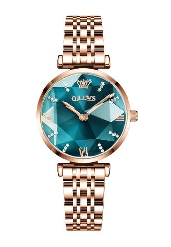 OLEVS green [Valentines Special]  Olevs Eonian Women Quartz Watch A90D2ACFF56216GS_1