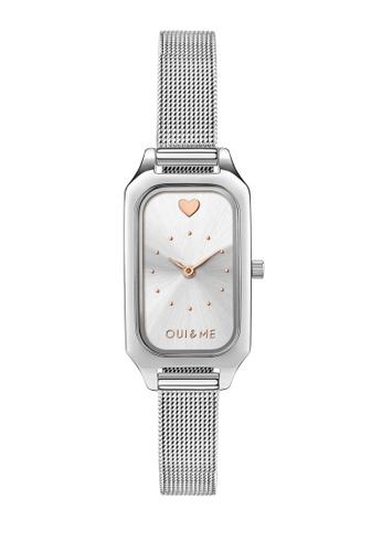 Oui & Me silver Finette Quartz Watch Silver Metal Band Strap ME010115 67D44AC7B29818GS_1