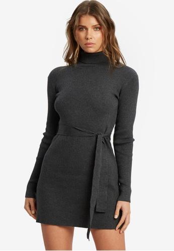 Tussah grey Mirelle Knit Dress 9C74AAA95E542EGS_1