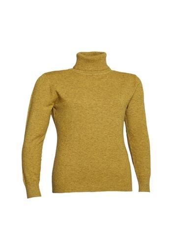 Universal Traveller yellow Universal Traveller Basic Turtleneck Knitted Sweater - KSW9160 E4A5EAA21E964CGS_1