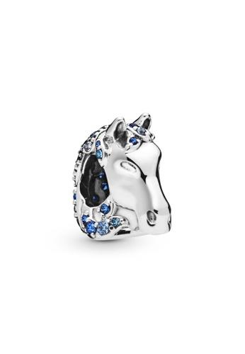 PANDORA silver Pandora Disney Frozen Nokk Horse Charm D481DAC5E12562GS_1