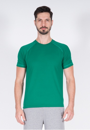 AMNIG green Amnig Men Training Raglan T-Shirt (Green) 1BFE7AAA64218AGS_1